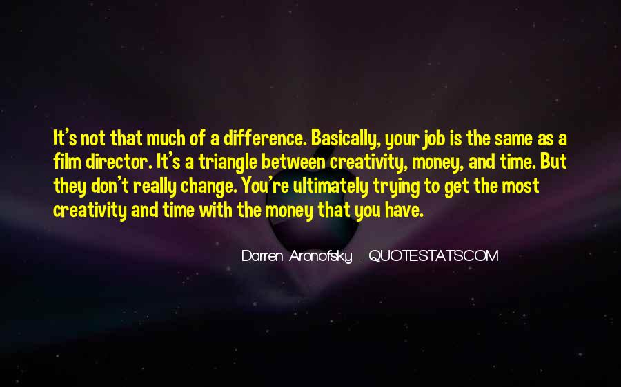 Darren Aronofsky Quotes #1518151