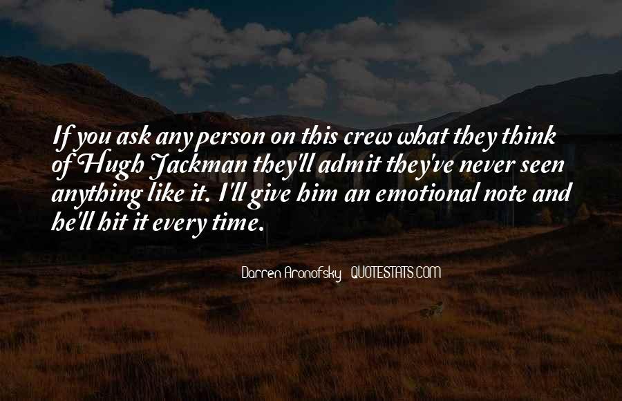 Darren Aronofsky Quotes #1534962
