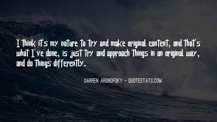 Darren Aronofsky Quotes #1581260