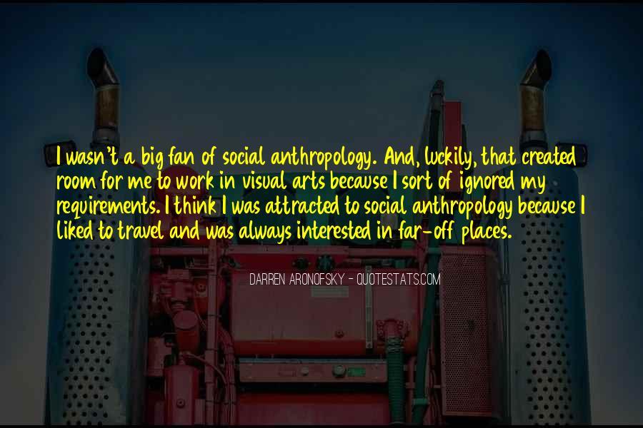 Darren Aronofsky Quotes #1645755