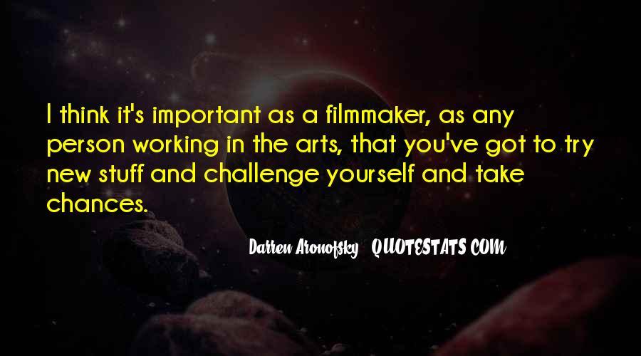 Darren Aronofsky Quotes #1729767