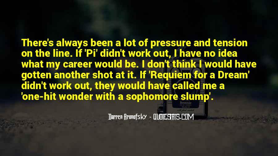 Darren Aronofsky Quotes #1829053