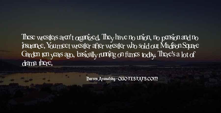 Darren Aronofsky Quotes #202882