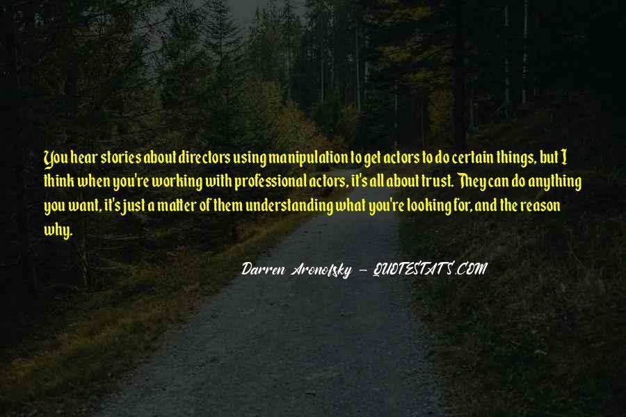Darren Aronofsky Quotes #366361