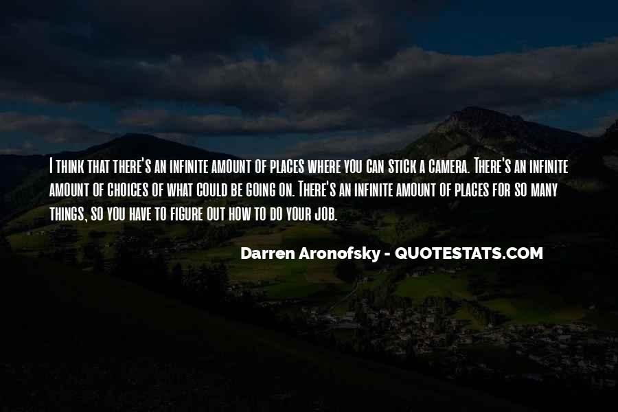 Darren Aronofsky Quotes #632112