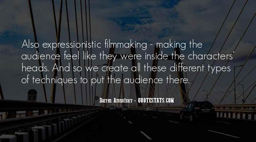 Darren Aronofsky Quotes #778462