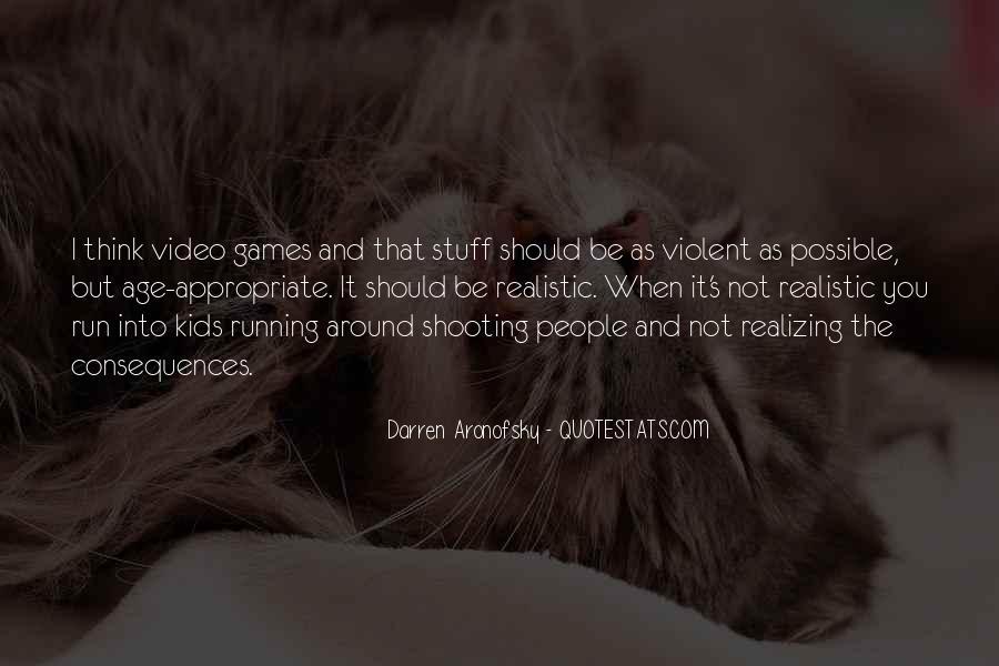 Darren Aronofsky Quotes #78386