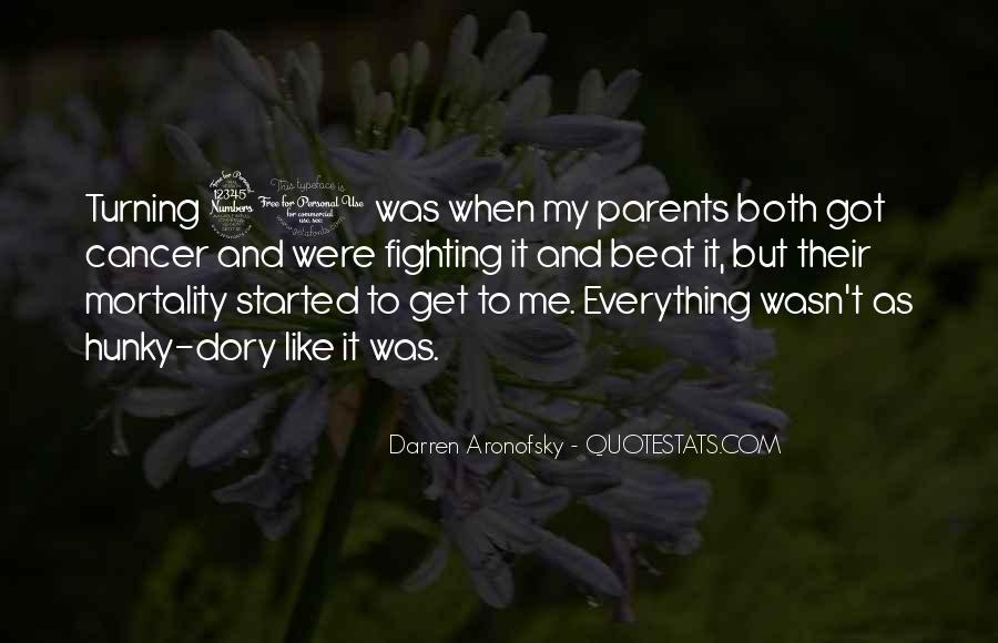 Darren Aronofsky Quotes #856304