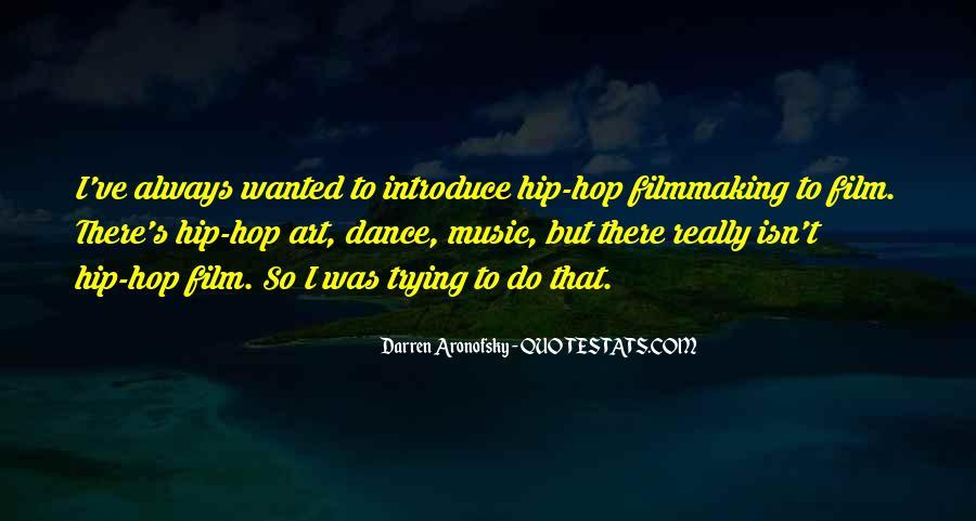 Darren Aronofsky Quotes #866417