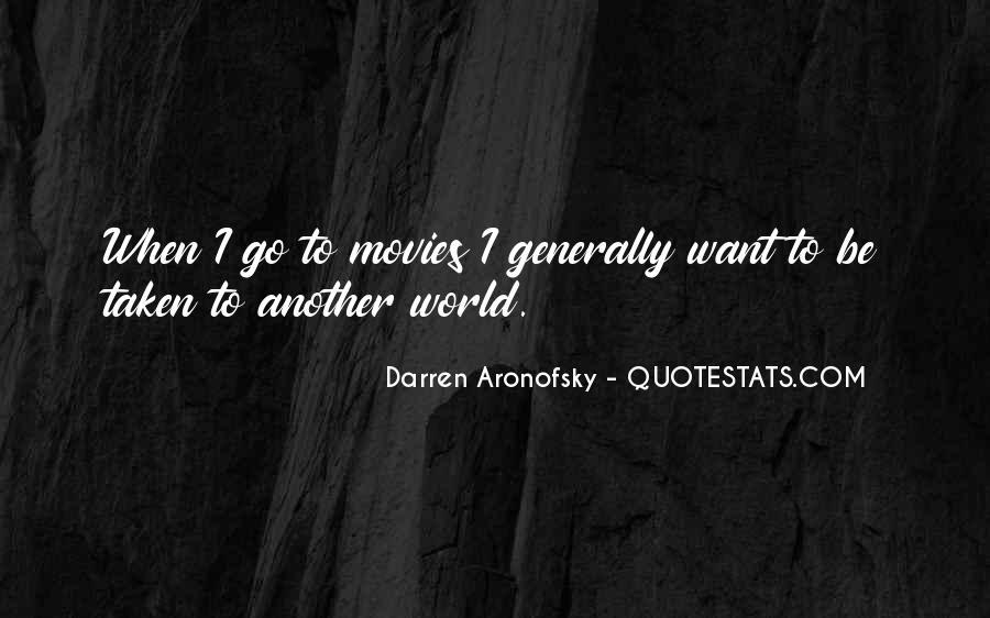 Darren Aronofsky Quotes #932486