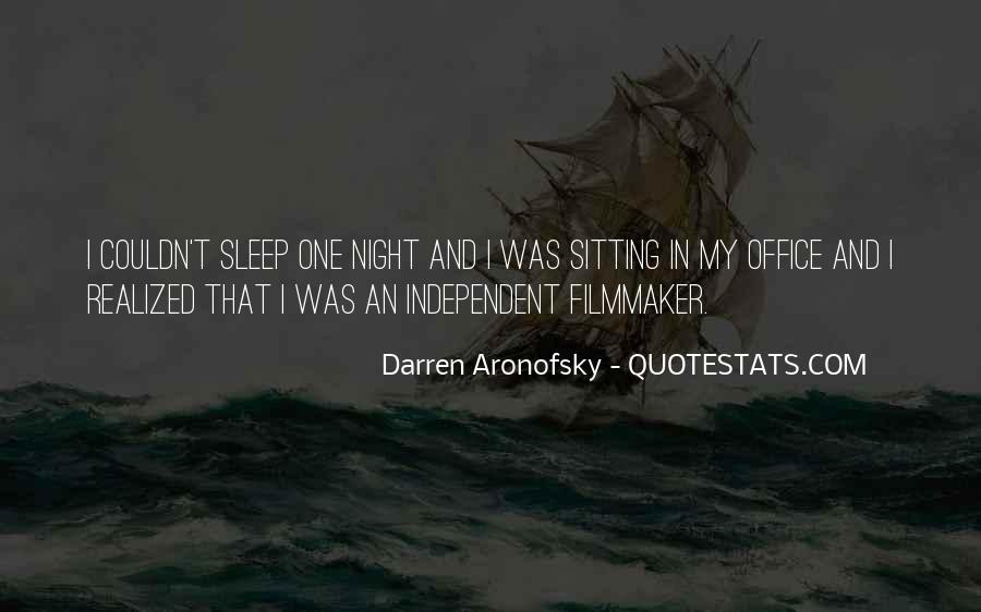 Darren Aronofsky Quotes #957568