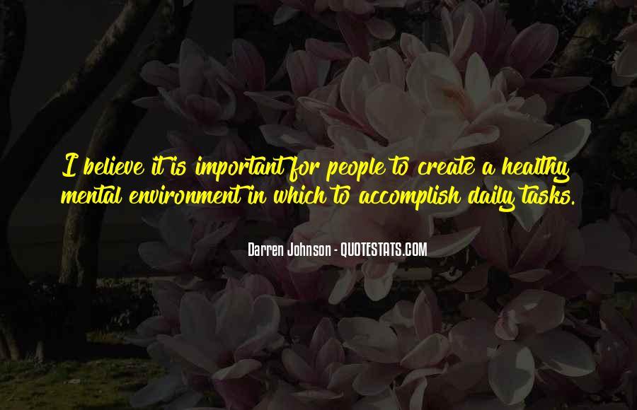 Darren Johnson Quotes #1006601