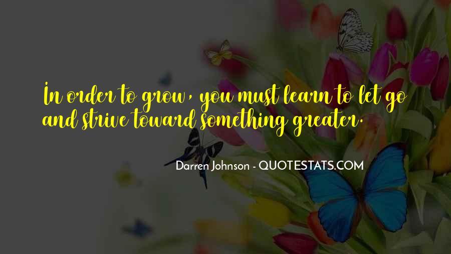 Darren Johnson Quotes #1214103