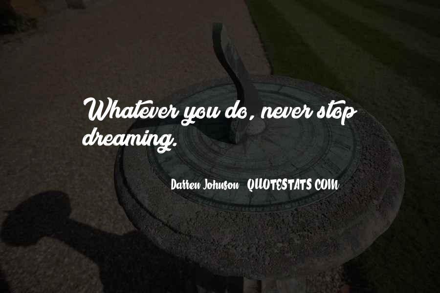 Darren Johnson Quotes #1486686