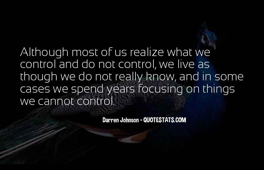 Darren Johnson Quotes #269980