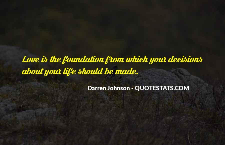 Darren Johnson Quotes #537729