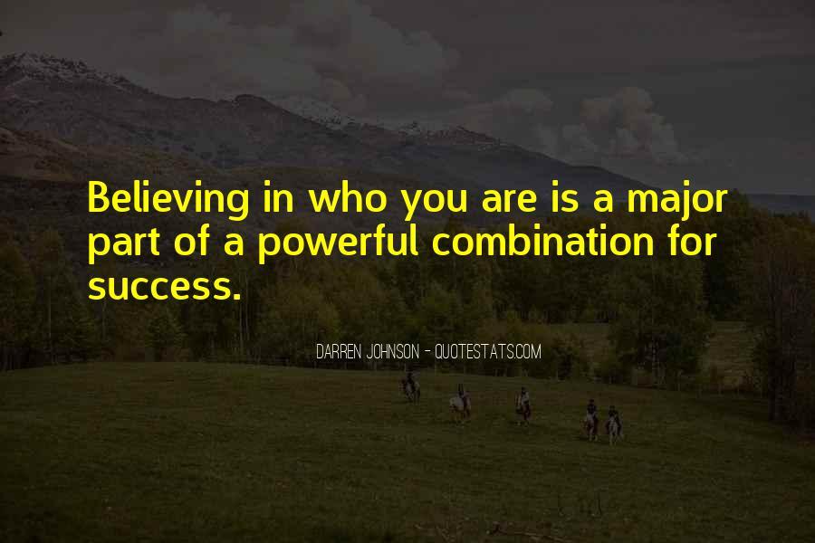 Darren Johnson Quotes #855541