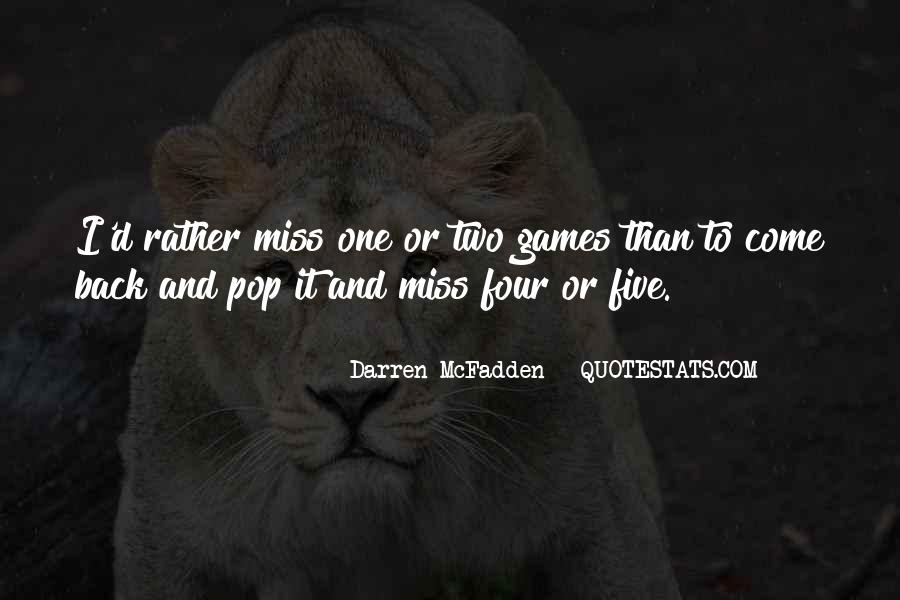 Darren McFadden Quotes #1278316