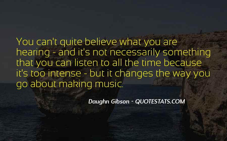 Daughn Gibson Quotes #335064