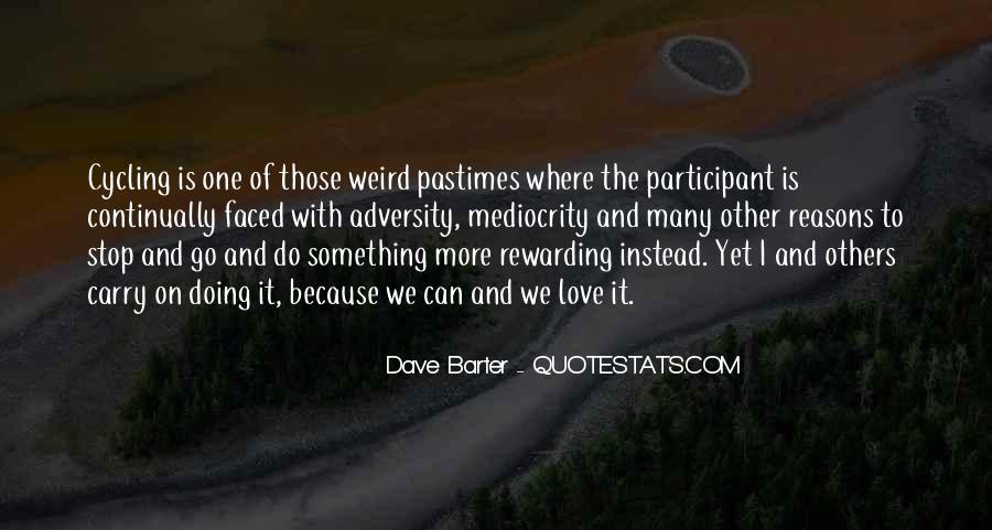 Dave Barter Quotes #475452