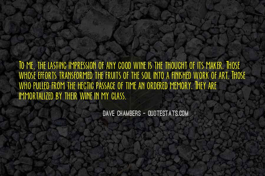 Dave Chambers Quotes #218275