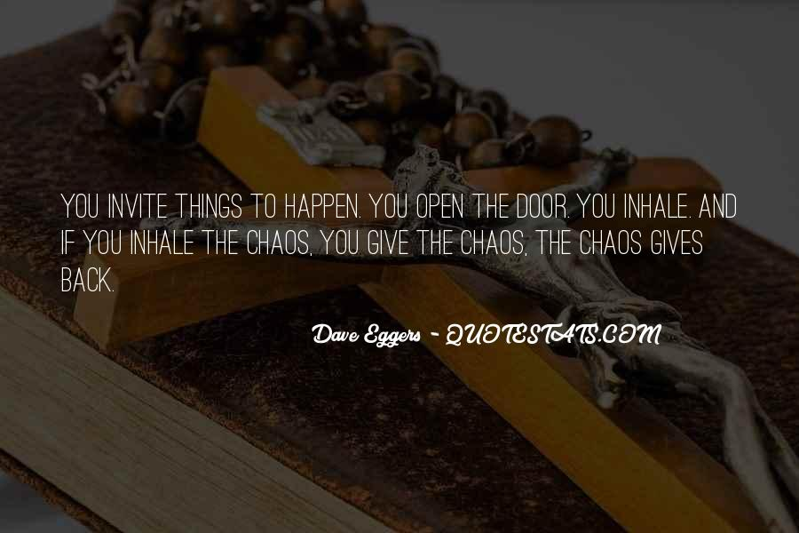 Dave Eggers Quotes #47084