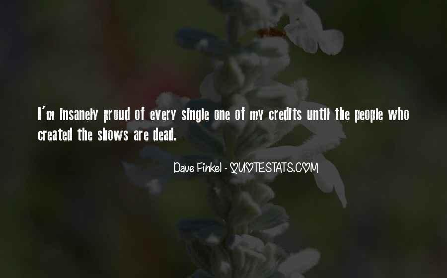 Dave Finkel Quotes #415655