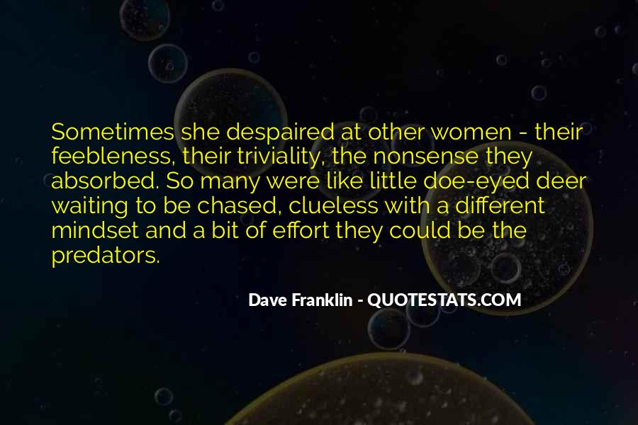 Dave Franklin Quotes #46658