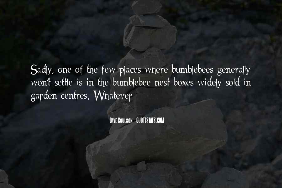 Dave Goulson Quotes #1683757