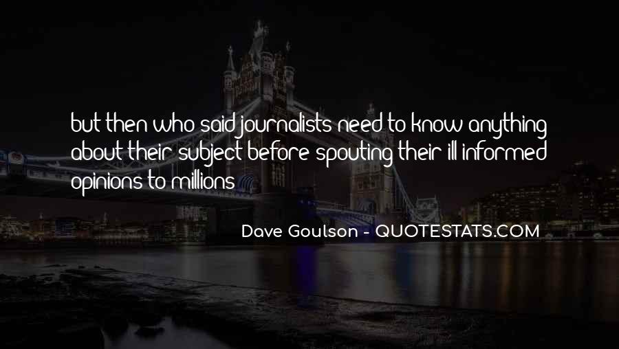 Dave Goulson Quotes #1849793