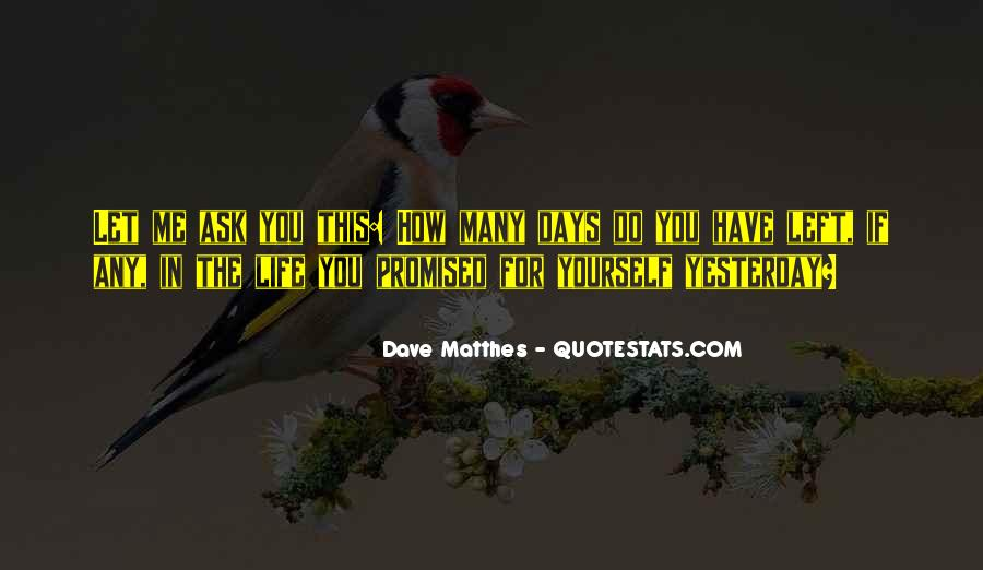 Dave Matthes Quotes #1468828
