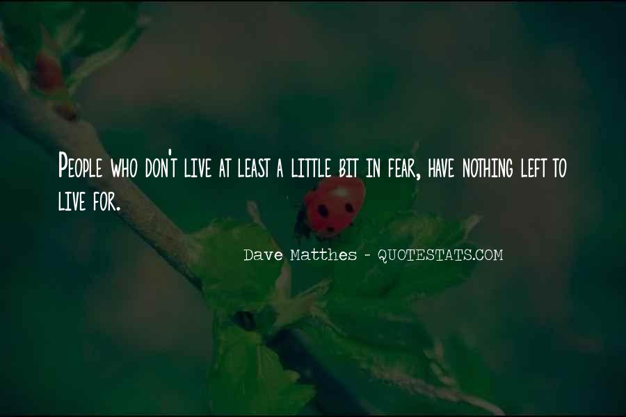 Dave Matthes Quotes #336885