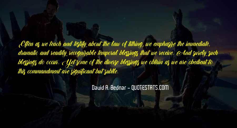 David A. Bednar Quotes #1053590