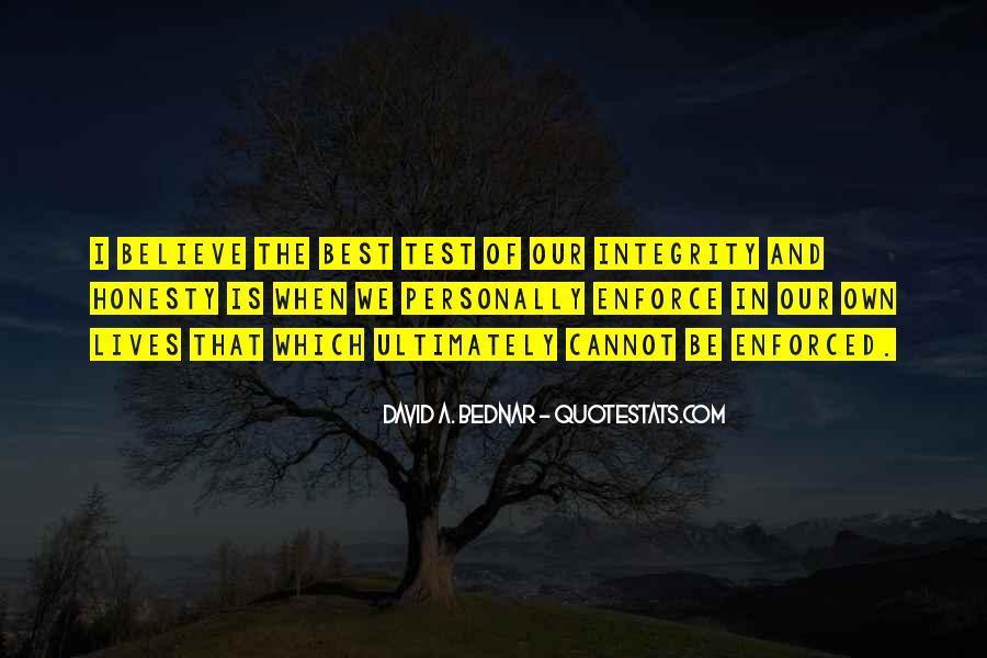 David A. Bednar Quotes #1116206