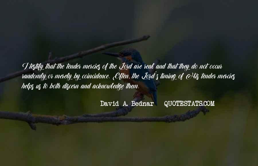 David A. Bednar Quotes #1143293