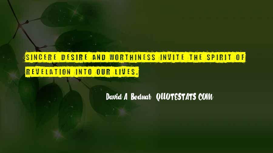 David A. Bednar Quotes #1272378