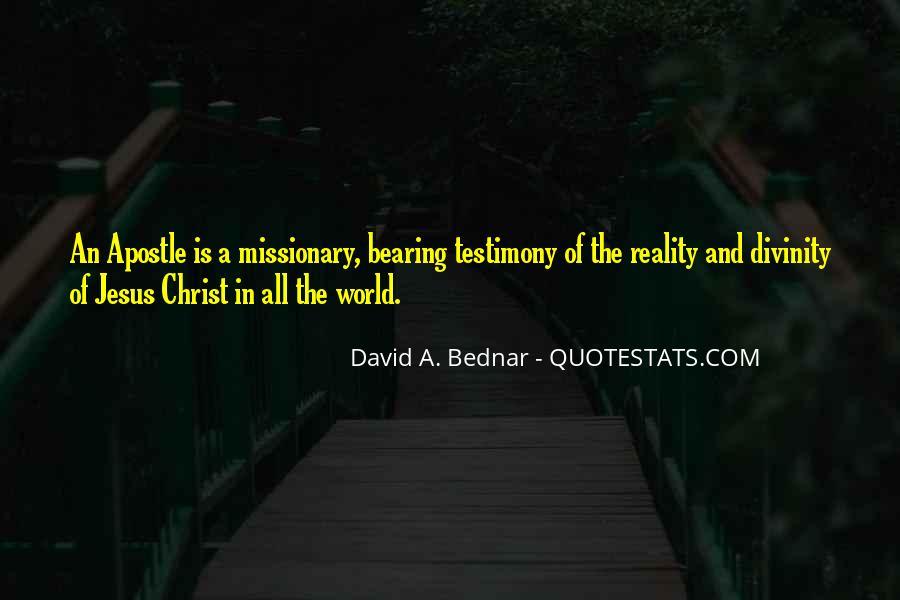 David A. Bednar Quotes #1331410