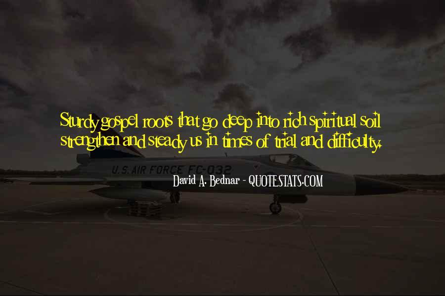 David A. Bednar Quotes #1356378
