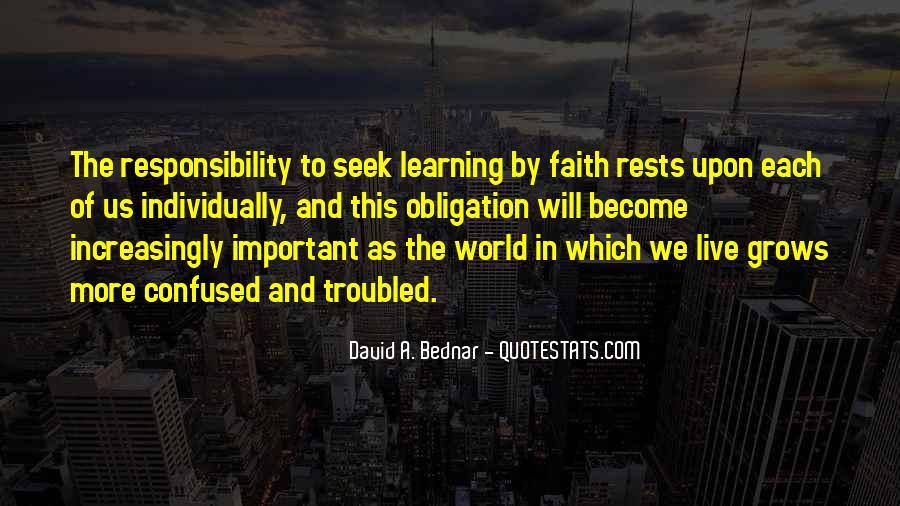 David A. Bednar Quotes #1497068