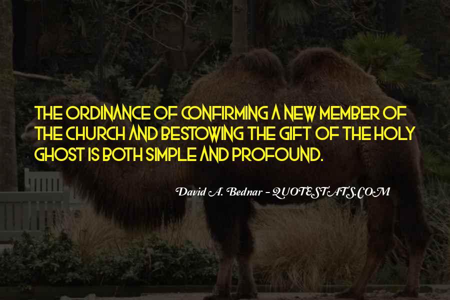 David A. Bednar Quotes #1705794
