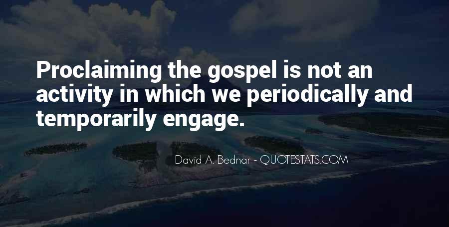 David A. Bednar Quotes #1714341