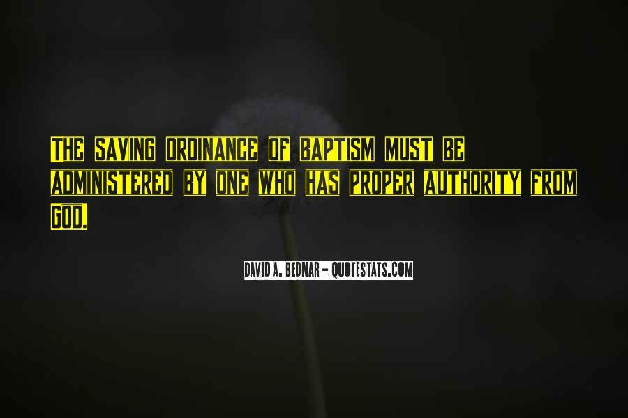David A. Bednar Quotes #20474