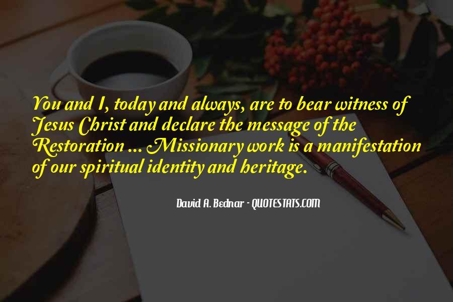 David A. Bednar Quotes #402506