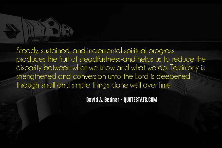 David A. Bednar Quotes #421914