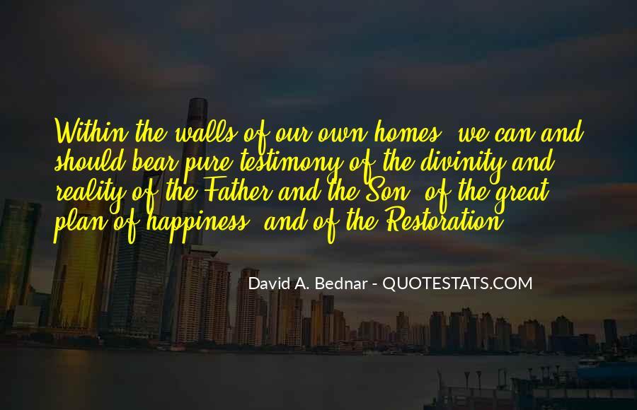 David A. Bednar Quotes #529708