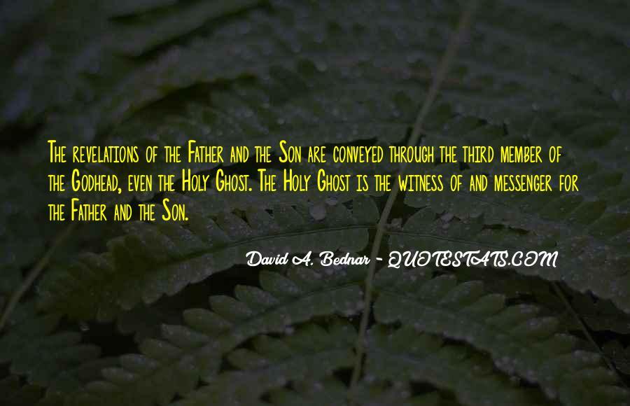 David A. Bednar Quotes #681262