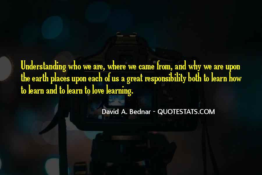 David A. Bednar Quotes #712560