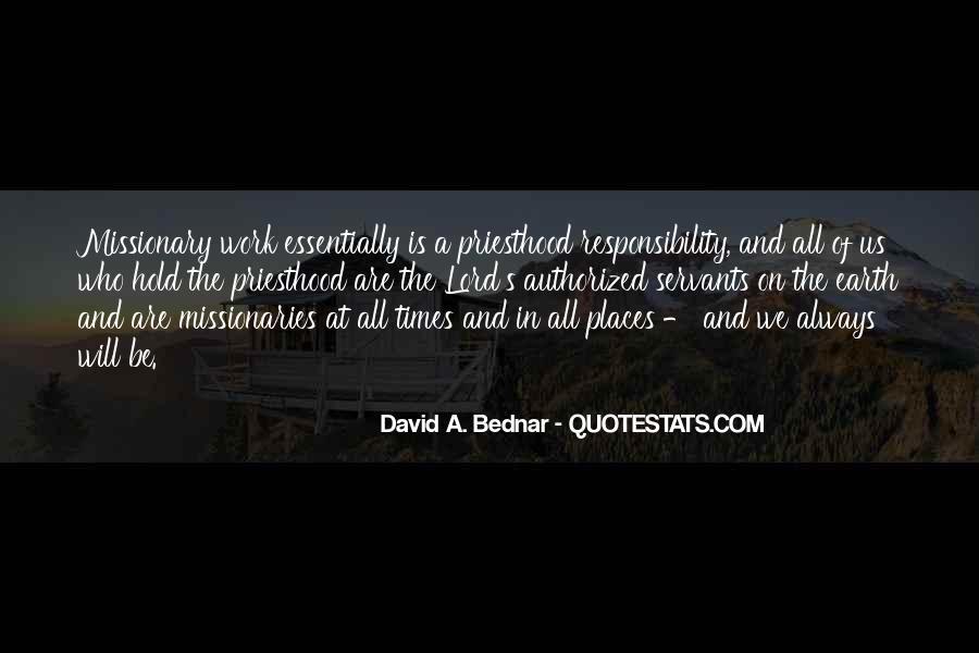 David A. Bednar Quotes #848079