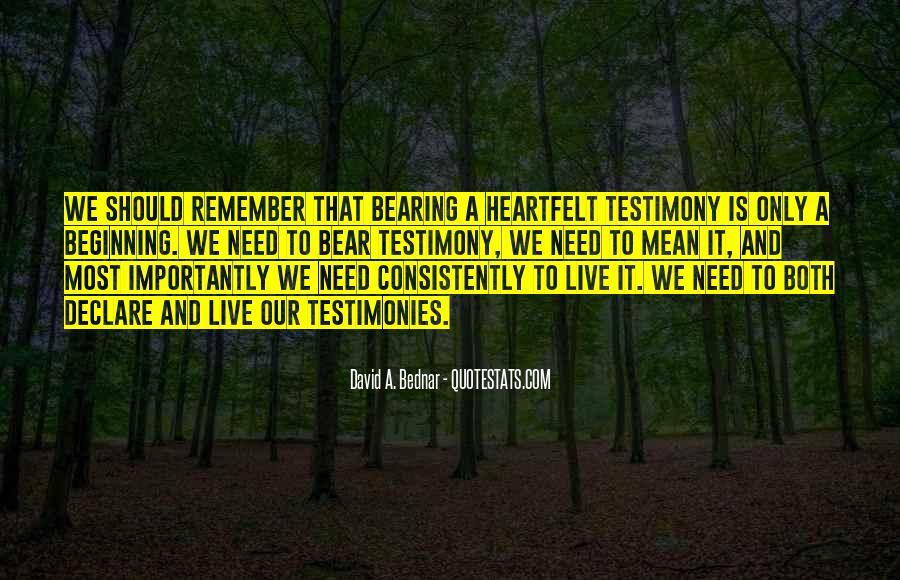 David A. Bednar Quotes #915582