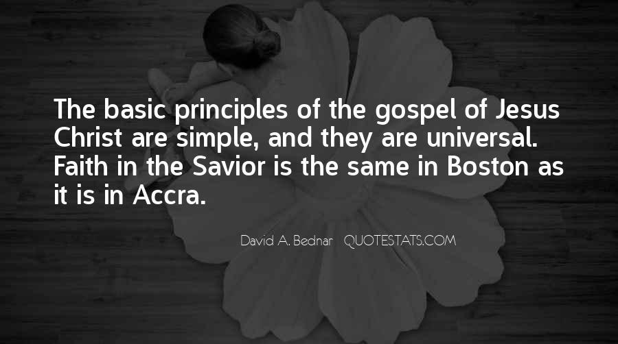 David A. Bednar Quotes #964053